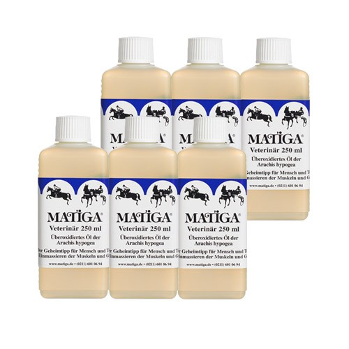 MATIGA Oel Veterinaer 6x250ml