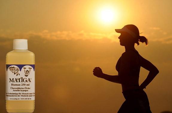 12 x 250 ml MATIGA Öl Human für den Sommer
